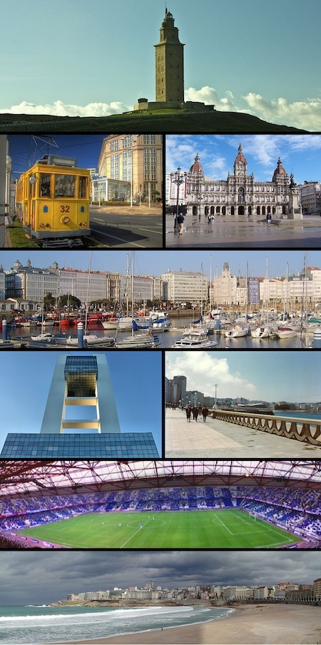 Collage de fotos coruna